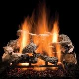 "24"" Rustic Timbers Logs w/Elec. Variable On/Off Ignition Burner - LP"