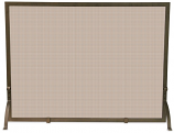 Single Panel Bronze Screen By Uniflame