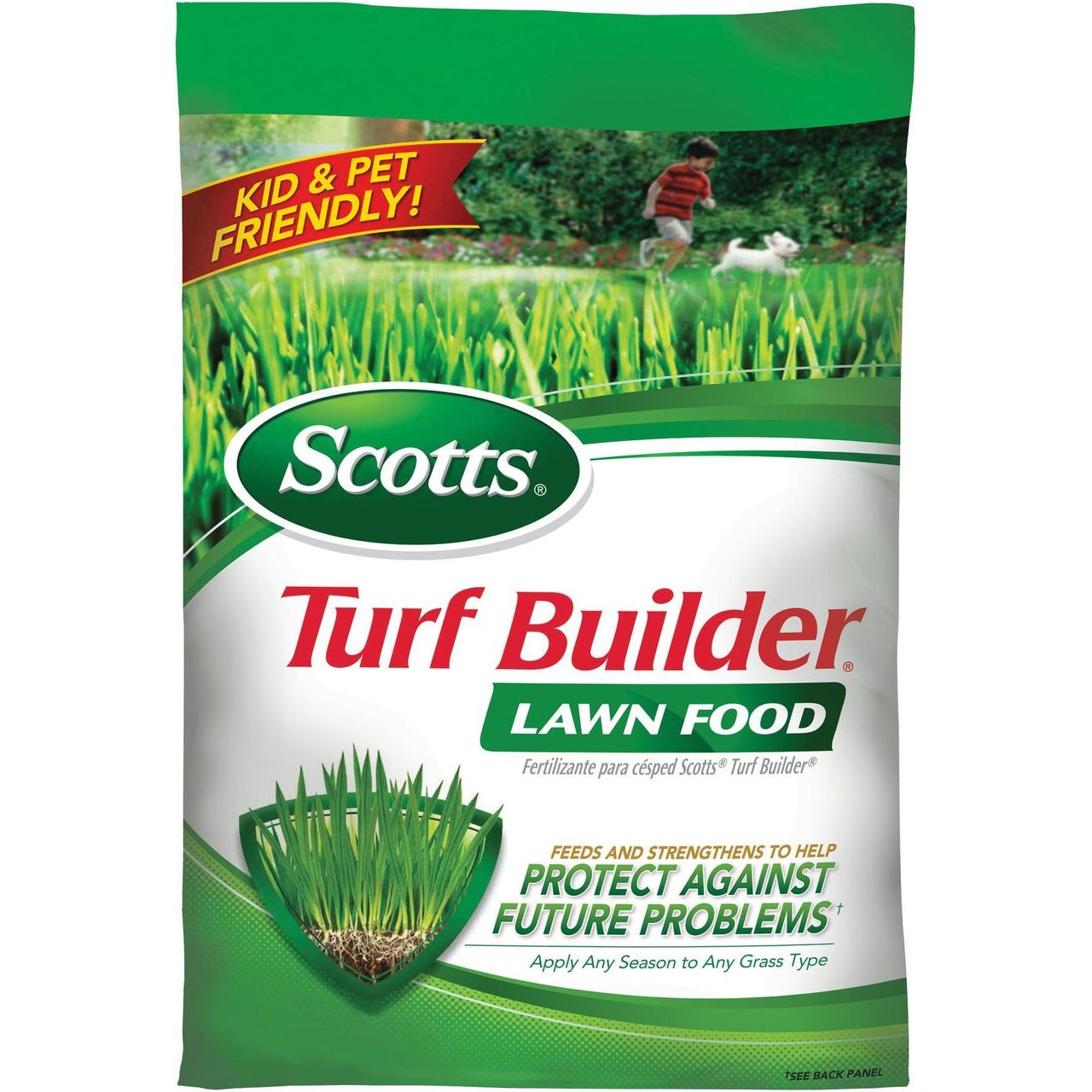 Scotts 37.5 Lbs / 15000 Sq Ft Turf Builder Lawn Food 32-0-4