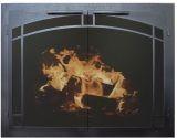 "FP Silhoutte Arch Artisan GL Door w/Mesh, 2.5"" Frame In TB - 35"" x 26"""