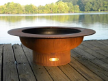 Saturn Fire Pit SAT By Firepit Art