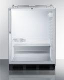 Summit SBC56GBINKCSSADA 24'' Wide Built-In Beer Dispenser - Glass, SS