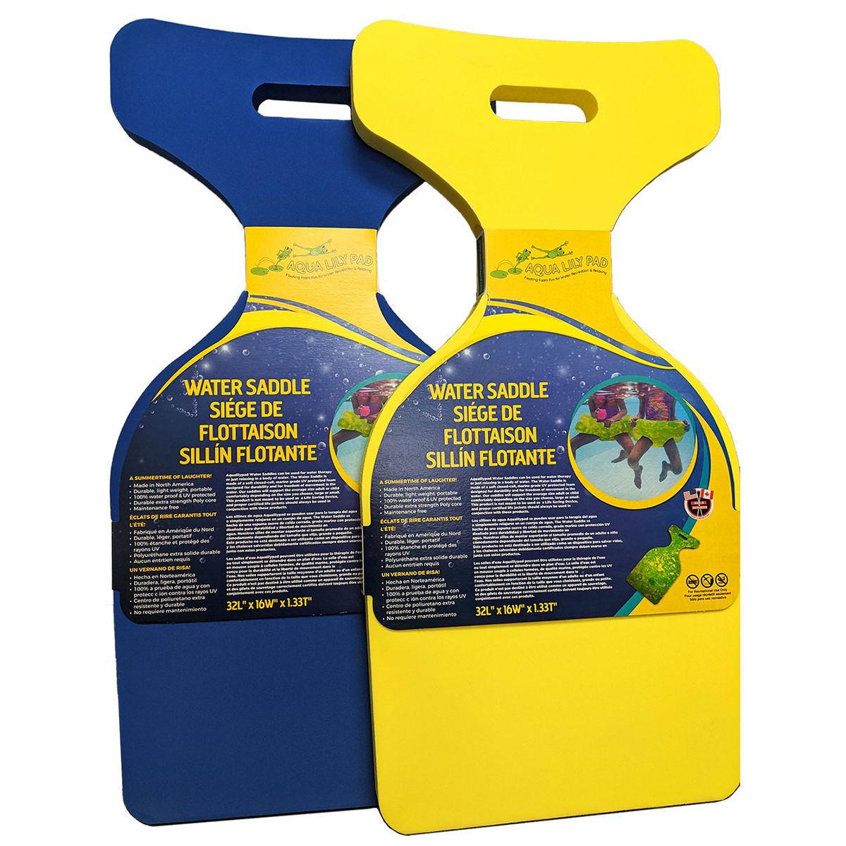 """Aqua Lily SDL-LG Water Saddle - 32""""L x 16""""W x 1.33""""T"""