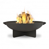 Real Flame Anson Fire Bowl in Gray