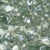 "10 lbs. Fire Drop 1/2"" Clear Reflective Fire Glass"