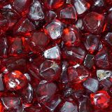 "10 lbs. Fire Diamond 1"" Red Reflective Fire Glass"