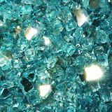 "10 lbs. Broken Style 1/2"" Azuria Reflective Fire Glass"