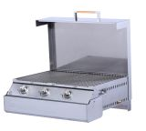 Dimplex SGBBQ640TC Space Grill Space-Saving Outdoor Compact Grill