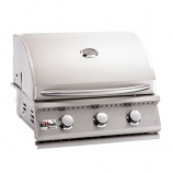 "Summerset 26"" Sizzler Stainless Steel Propane Gas Grill"