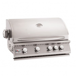 """Summerset 32"""" Sizzler Stainless Steel Propane Gas Grill"""