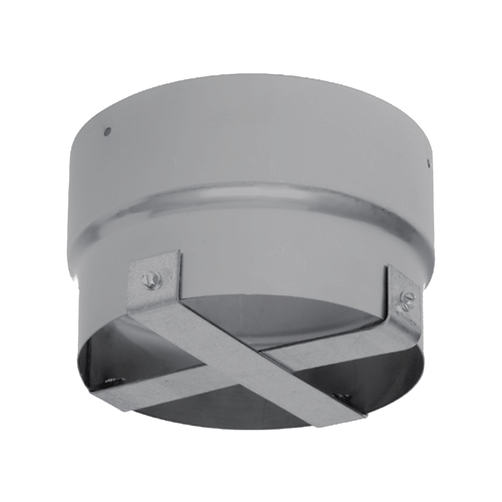 """Metal-Fab SuperFlex Standard Chimney Connector with Pull Bar - 3""""Dia"""
