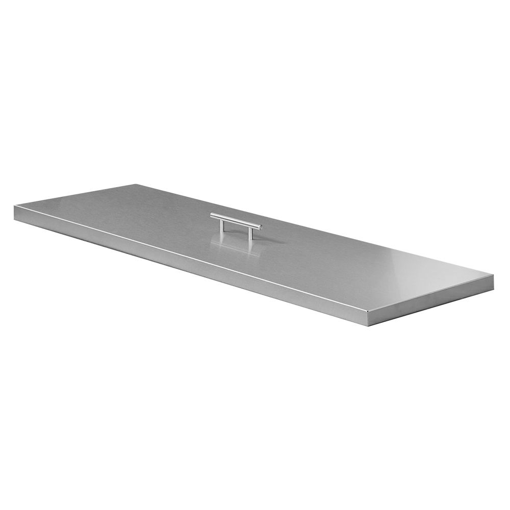 "Outdoor GreatRoom Stainless Steel Burner Cover - 13.5"" x 65"""