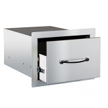 "Summerset 17"" North American Stainless Steel Single Drawer"
