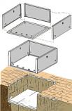 Lazy Man Insulation Panel sides - 2 Pcs