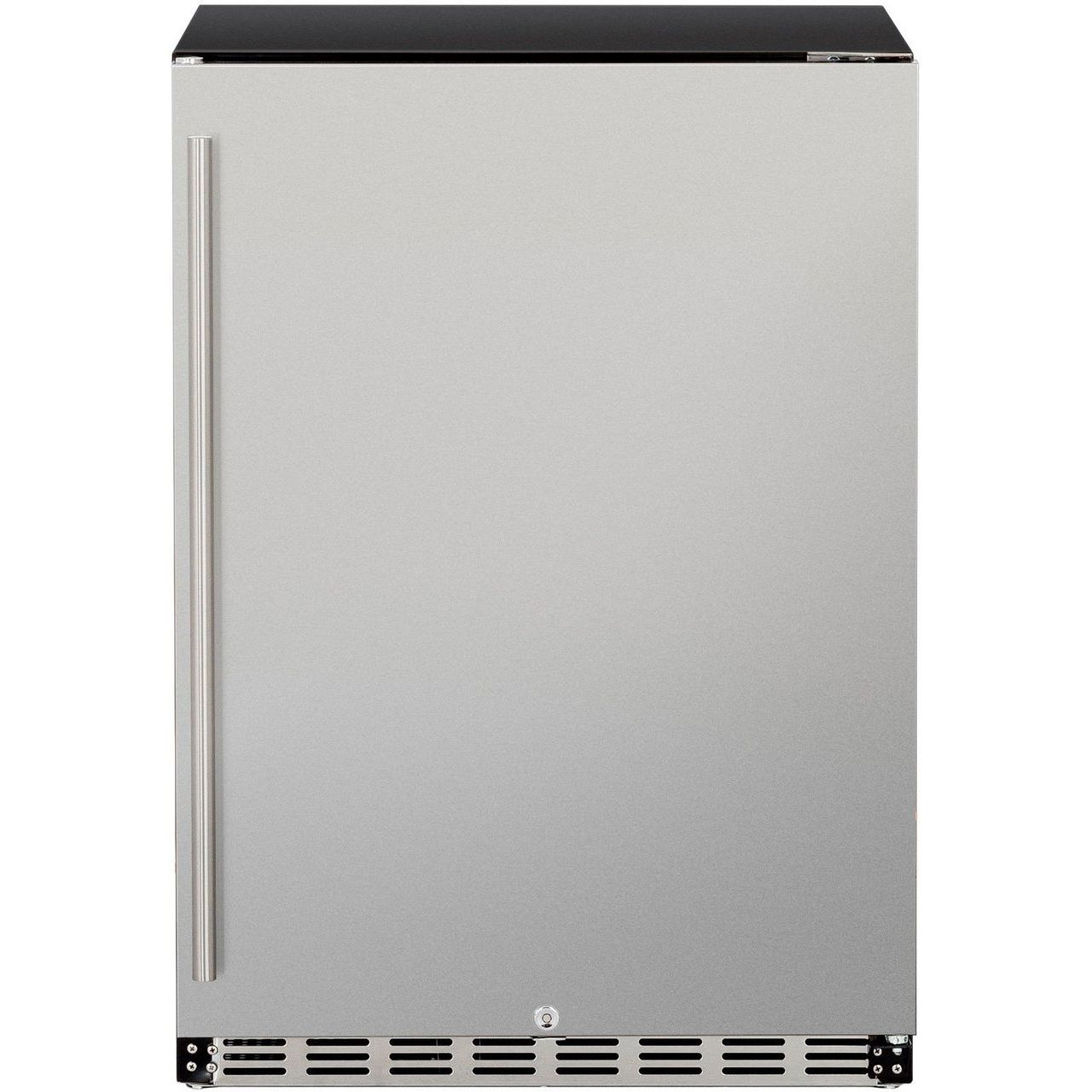 """Summerset 24"""" 5.3c Outdoor Rated Fridge - Left to Right Opening"""