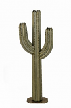 5' Saguaro with Three Torches By Desert Steel