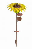 Sunflower Garden Torch By Desert Steel