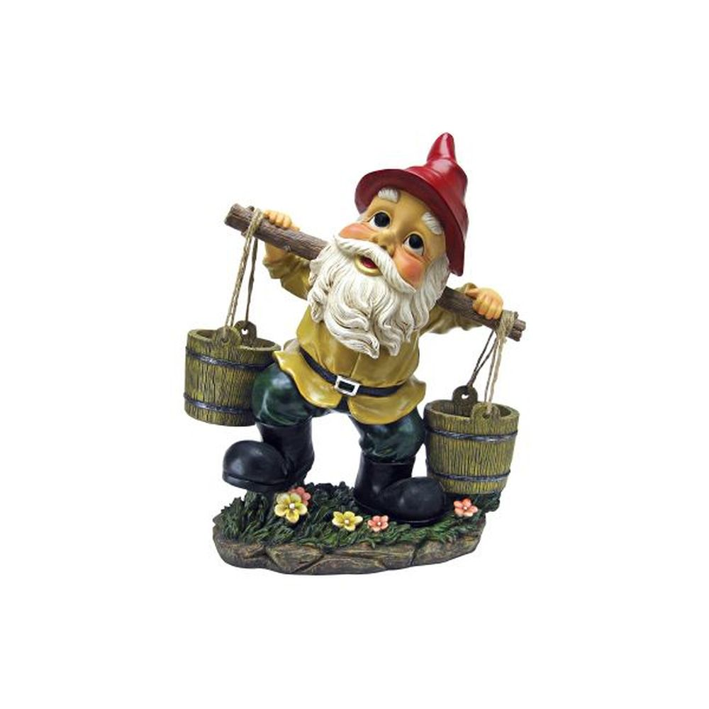 Design Toscano Barney Buckets Gnome Garden Statute