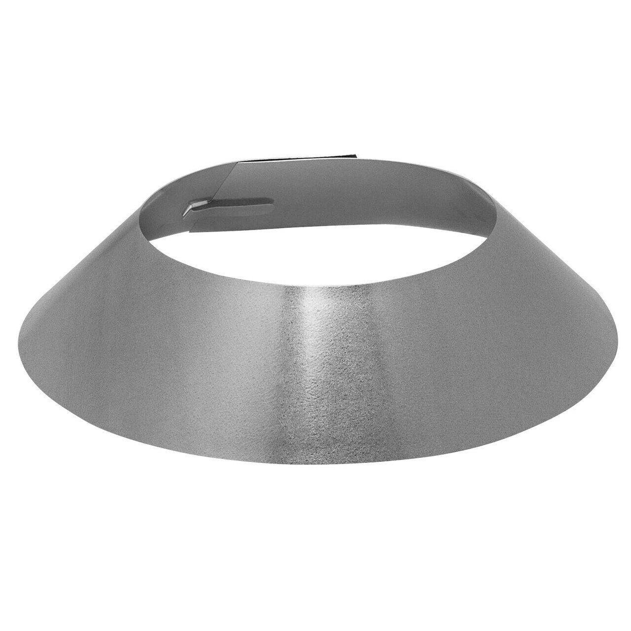 """Metal-Fab Temp/Guard Galvanized Storm Collar - 8""""Dia"""