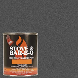 Stove Bright Charcoal Brush - On 1200 Degree Paint - pint