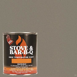 Stove Bright Metallic Brown Brush - On 1200 Degree Paint - pint