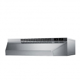 """Summit 18"""" Range Hood for Ducted or Ductless Use -Stainless Steel"""