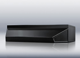 """24"""" wide shell hood in black By Summit Appliance"""