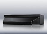 """36"""" wide shell hood in black By Summit Appliance"""
