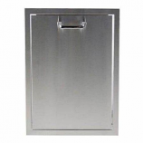 Outdoor GreatRoom Stainless Steel Trash or Propane Tank Tilt Out