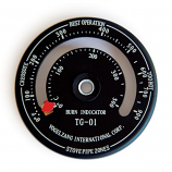 Temperature gauge with magnet By Us Stove