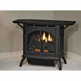 Empire VFD20CC30FP Heritage Cast Iron Matte Black VF Stove - LP
