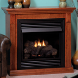 "Empire VFD26FM30CP Vent-Free 26"" Cherry MV Fireplace - LP"