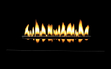 "MV 24"" Loft Vent-Free Multi-Sided Burner - Liquid Propane- BURNER ONLY"