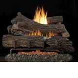 "24"" Giant Timber Outdoor Logs w/Stainless Steel MV Ignition Burner, NG"