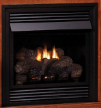 "Empire Vent-Free 24"" NG Thermostat Control Fireplace"