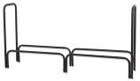 """Black 60"""" Long Log Rack By Uniflame"""
