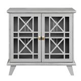 Walker Edison W32FWAGY 32'' Accent Storage Cabinet - Grey