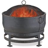 Endless Summer Oil Rubbed Bronze Wood Burning Outdoor Fire Pit