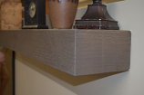 Premier Cast Works WC-CSU-SH Woodcast Cast Stone Mantel Shelf
