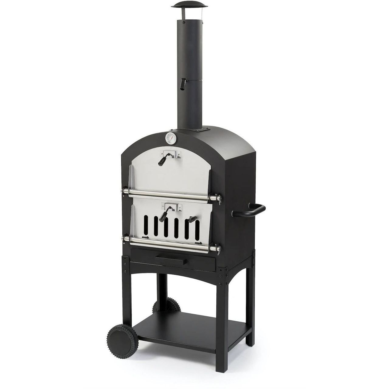 WPPO Stand Alone Eco Wood Fired Garden Oven With Pizza Stone
