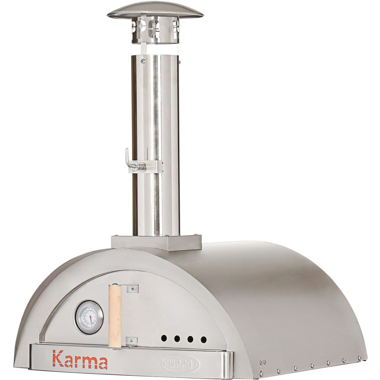 WPPO Karma 25 Wood Fired Pizza Oven Only - Stainless Steel