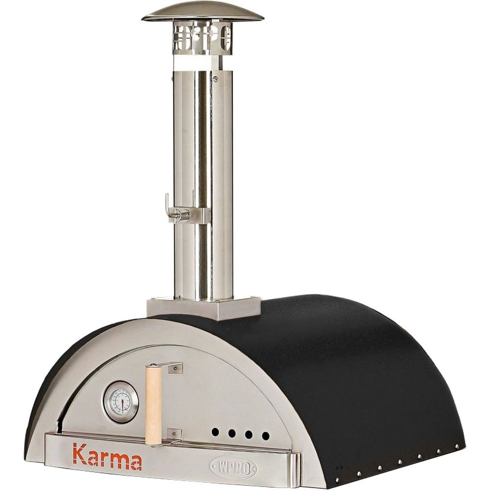WPPO Karma 25 Wood Fired Pizza Oven Only - Black