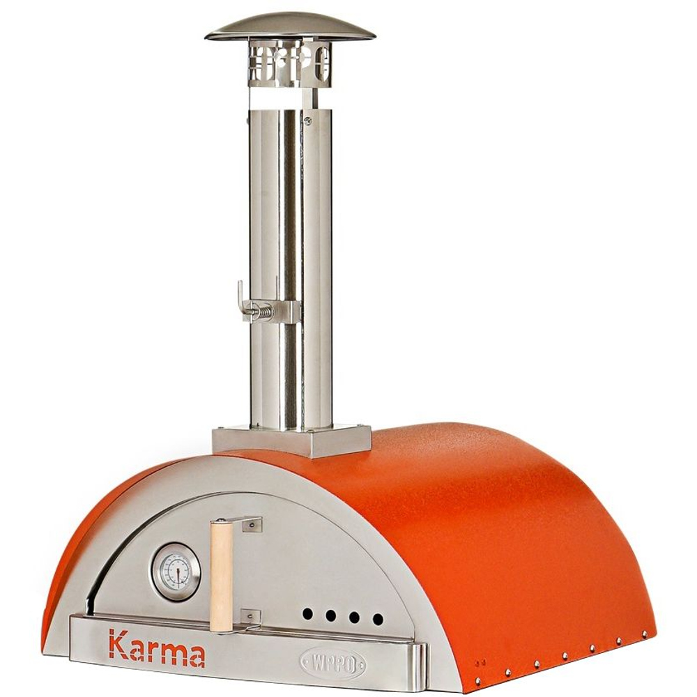 WPPO Karma 25 Wood Fired Pizza Oven Only - Orange