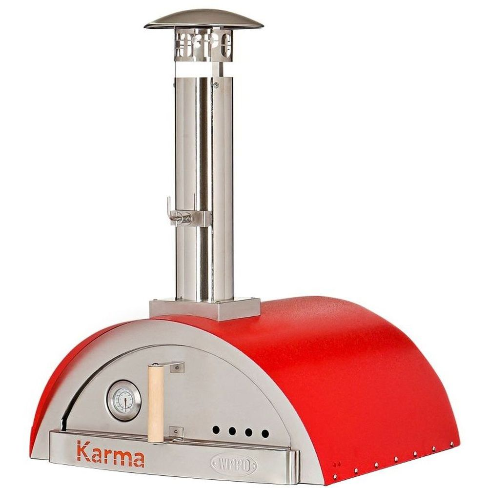 WPPO Karma 25 Wood Fired Pizza Oven Only - Red
