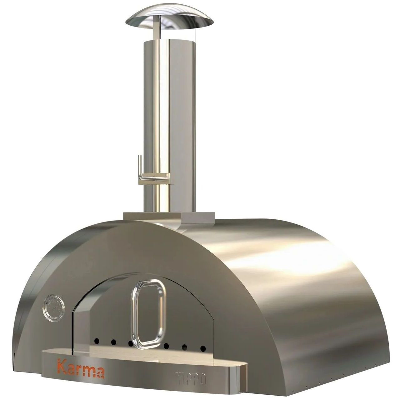WPPO Karma 32 304SS Professional Wood Fired Oven - Stainless Steel