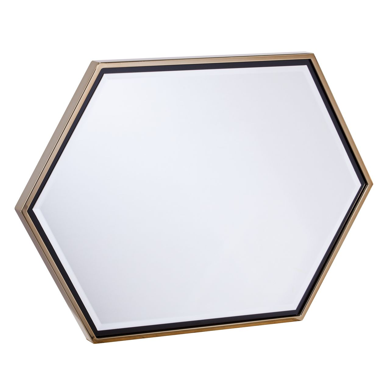 Holly & Martin Whexis Wall Mirror in Champagne Gold