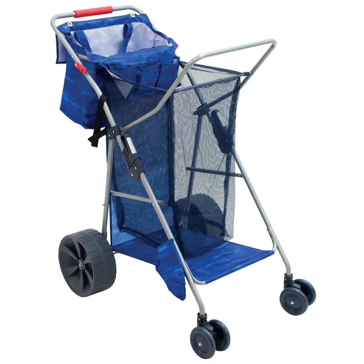 Rio Beach Cart Wonder Wheeler Deluxe - Dark Blue Water