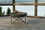Curonian Memel Solid Steel Medium Fire Pit