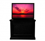 "Elevate Anyroom Lift Cabinet for 42"" Flat Screen TV - Rich Black"