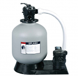 Tianjin Pool PO11530 19in ABG Sand Filter 1.5HP Pump 6ft 115V 1.5inFPT Top Mount
